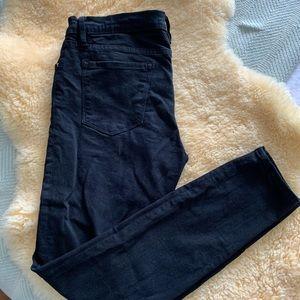 Frame Denim | Le Skinny De Jeanne black jeans